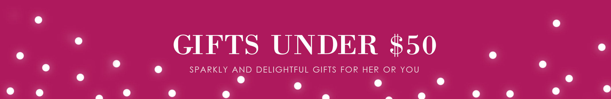 Holiday Gifts Under $50 for Her