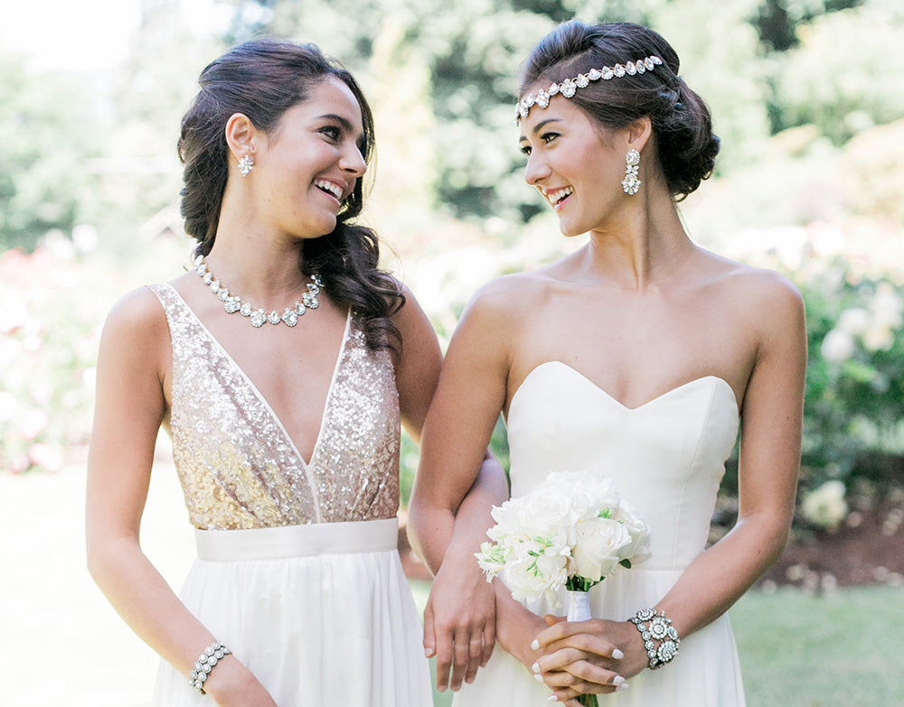 How to Pick the Perfect Wedding Jewelry for your Dress