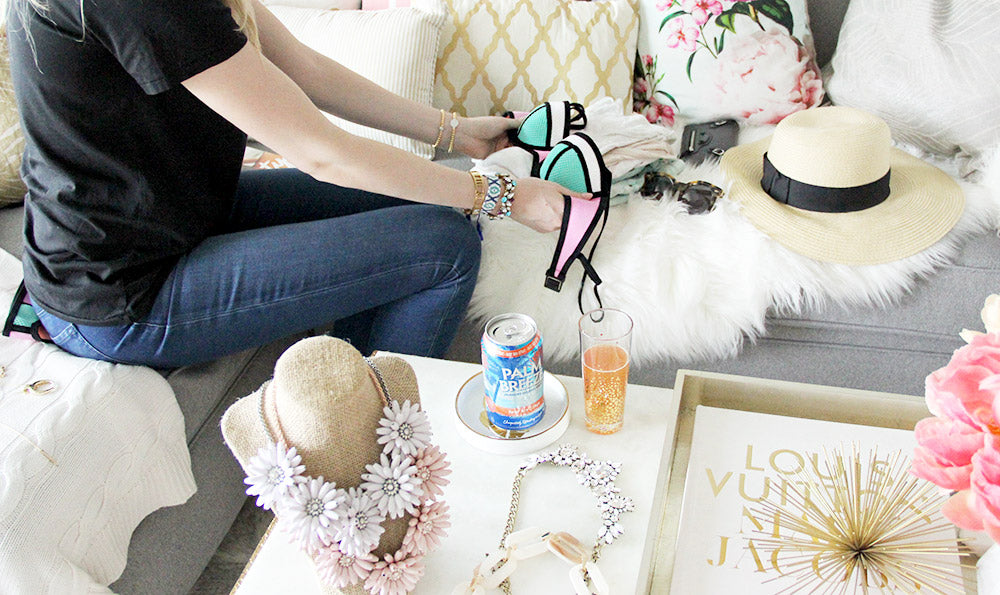 olive + piper How to Pack Your Jewelry for Vacation