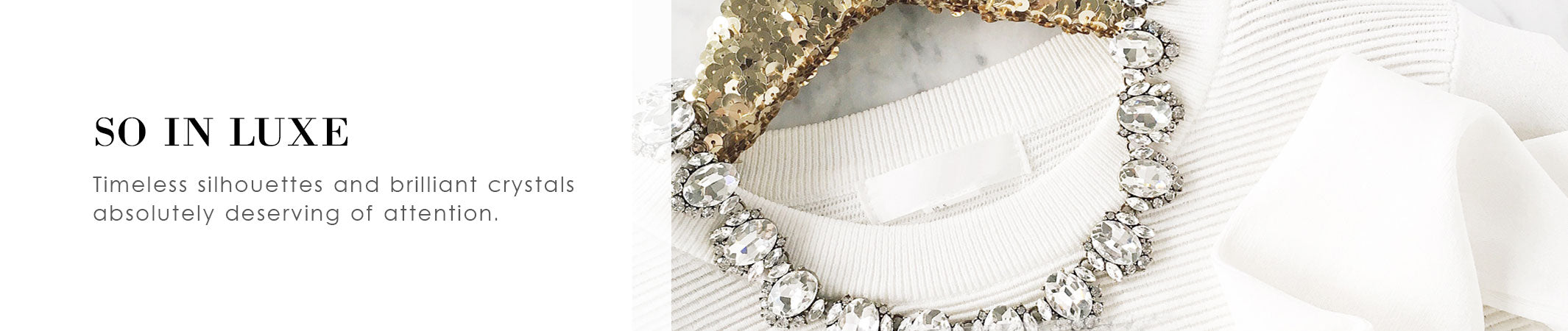 So in Luxe: Glamorous and Special Occasion Jewelry | olive + piper