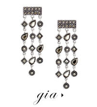 olive + piper Gia Statement Chandelier Earrings