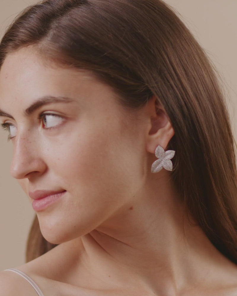 Load and play video in Gallery viewer, olive + piper Primrose Stud Earrings