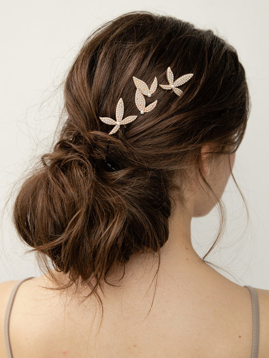 olive + piper Dylan Pearl Hair Pins