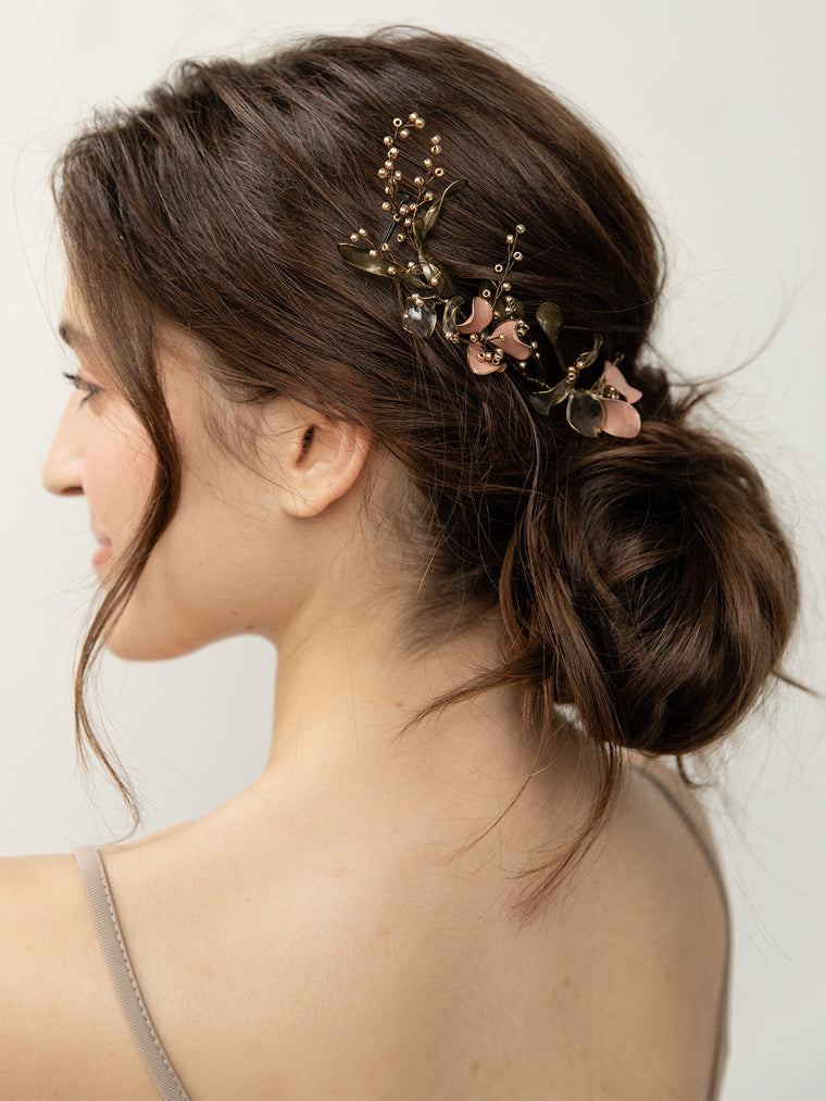 olive + piper Wilfred Handmade Floral Headpiece