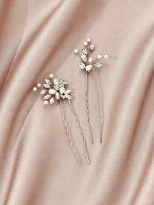 olive + piper Padma Hair Pins (Set of 2)