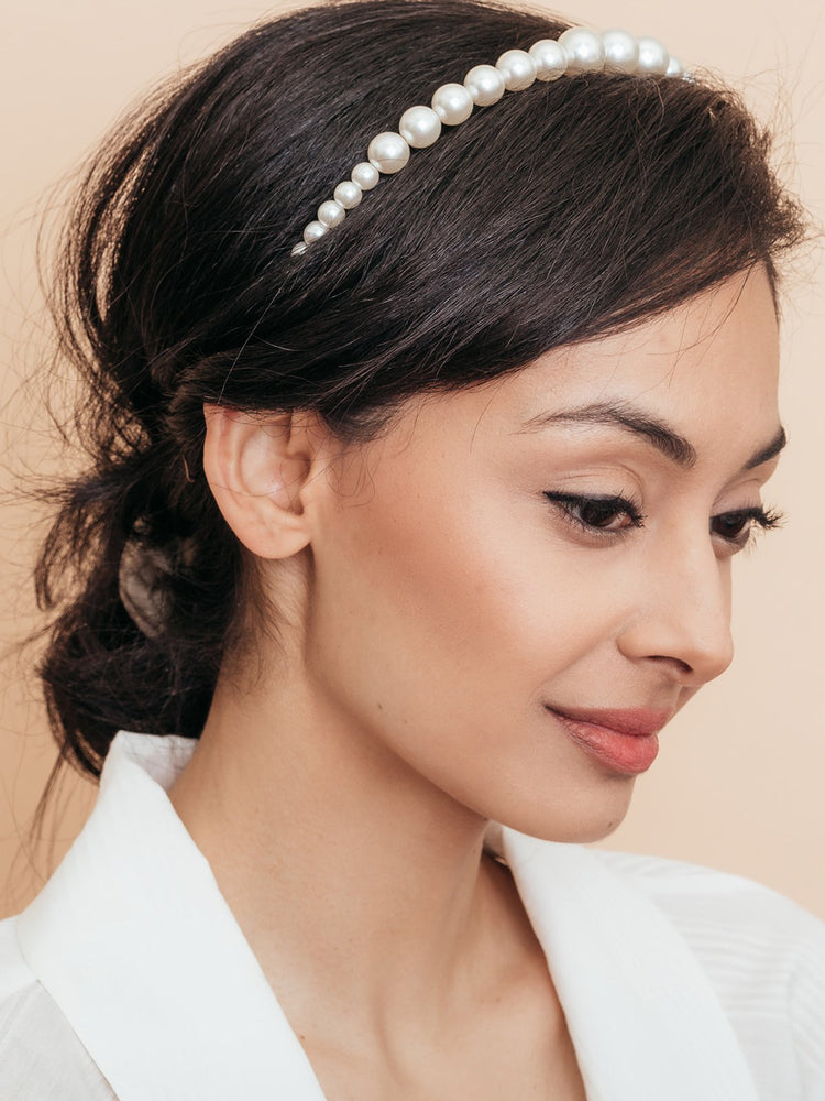 olive + piper Madison Pearl Headband