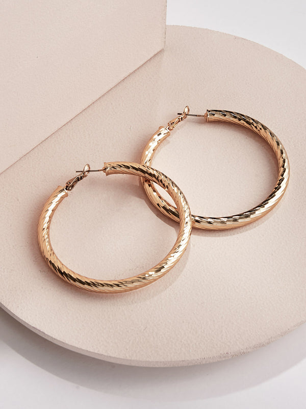 olive + piper Allegra Hoop Earrings
