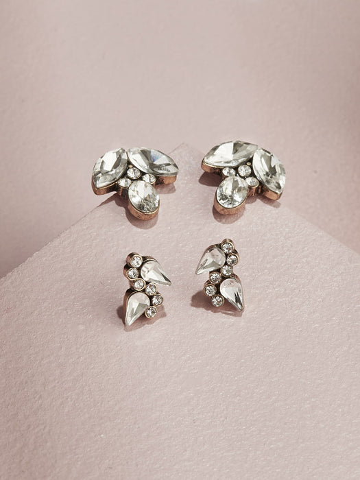 olive + piper Alma Stud Earring Set
