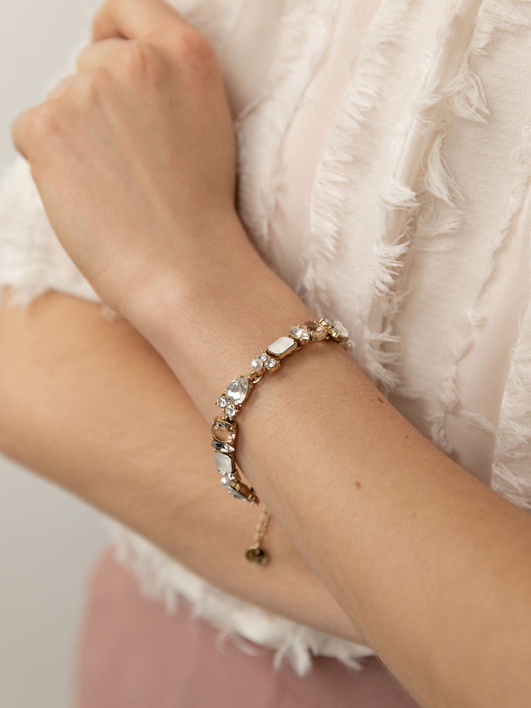 Load image into Gallery viewer, olive + piper Loraine Statement Bracelet