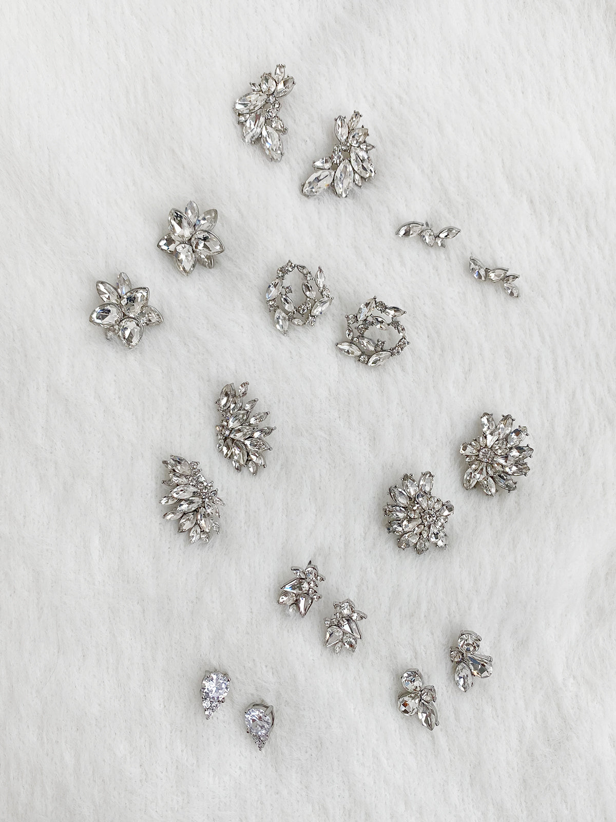 olive + piper Create Your 3 Stud Set - Silver