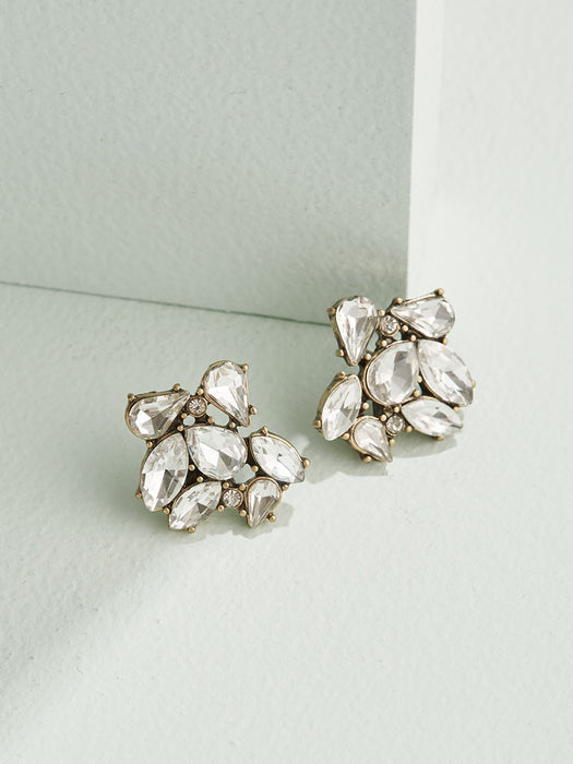 olive + piper Celeste Cluster Stud Earrings