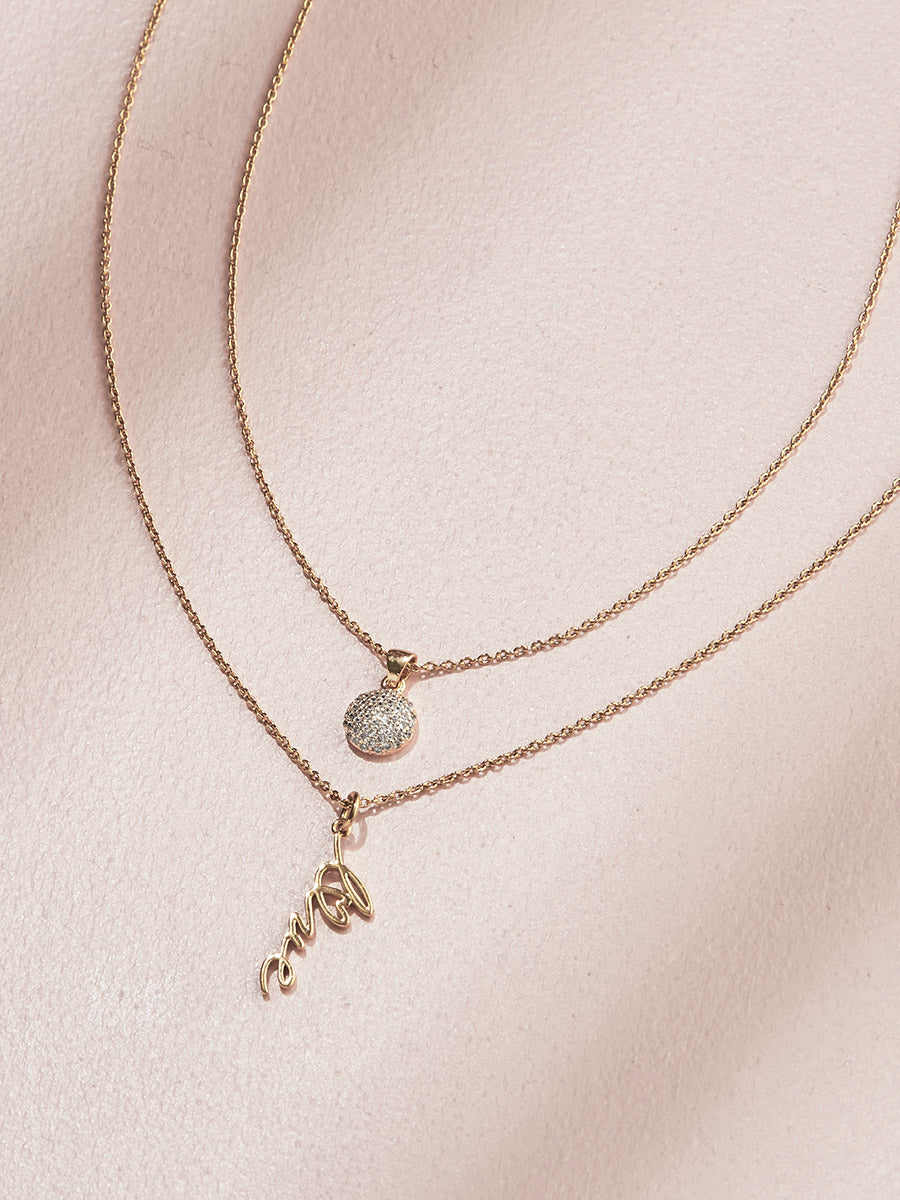 olive + piper Charmed Pendant Necklace Duo