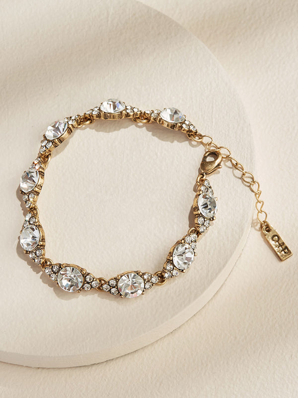Chloe Crystal Bracelet - olive + piper fashion jewelry