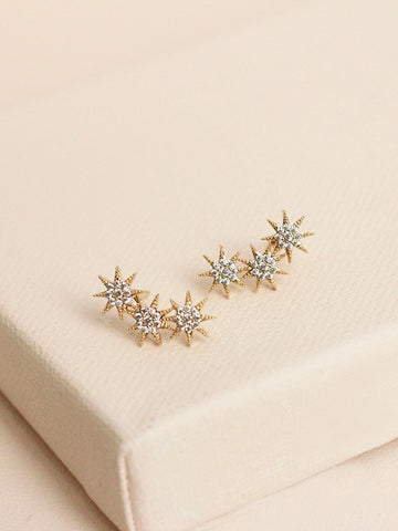 olive + piper Cosmo Stud Earrings