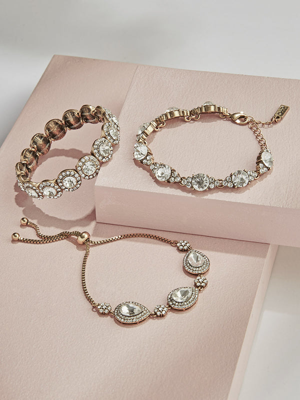 Crystalline Bracelet Set - Olive + Piper fashion jewelry