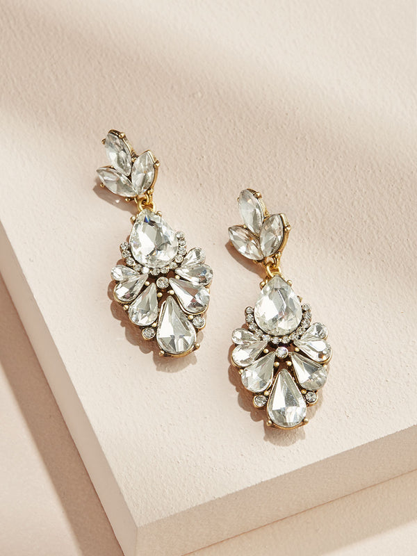 olive + piper Dakota Drop Statement Earrings