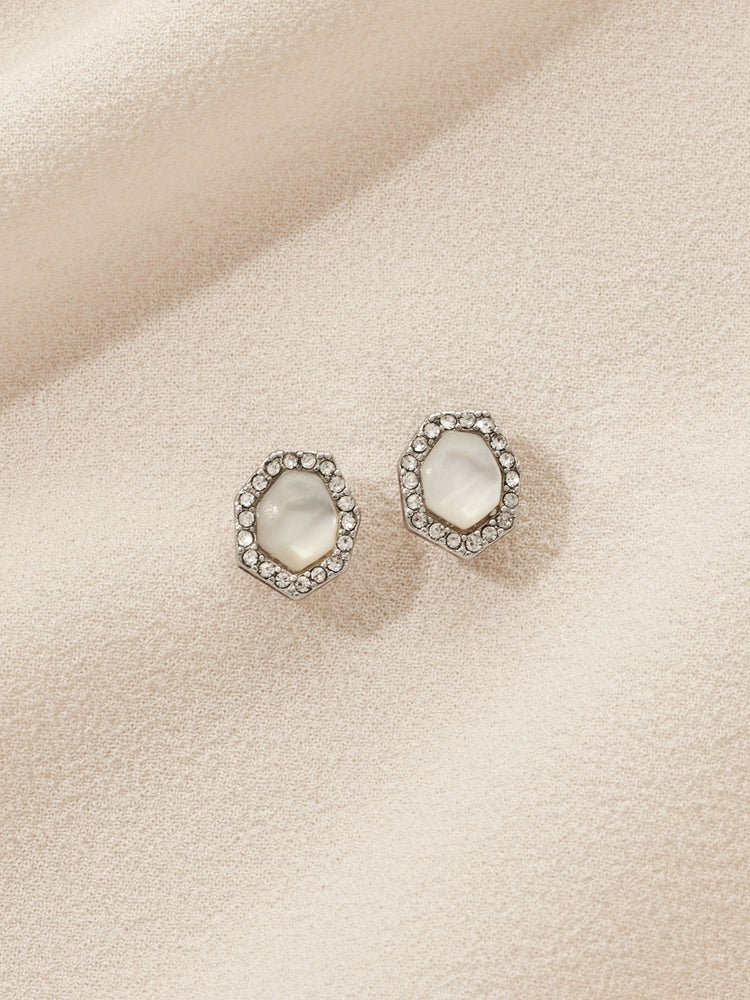 olive + piper Faith Stud Earrings