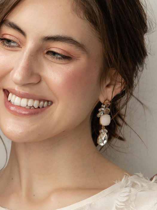 olive + piper Windsor Statement Earrings