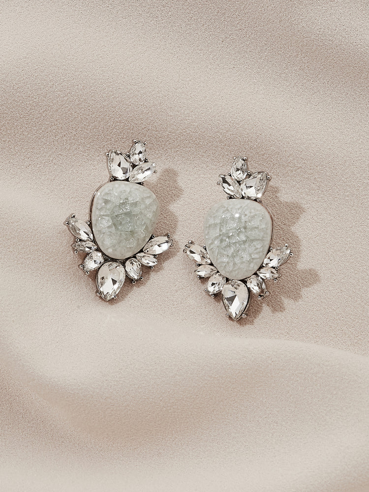 Load image into Gallery viewer, olive + piper Henri Statement Stud Earrings