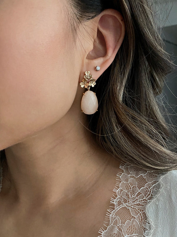olive  + piper Petunia Earrings