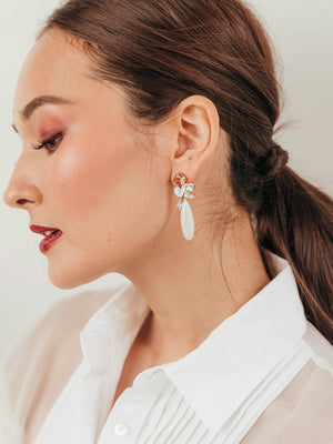 Load image into Gallery viewer, olive + piper Valerie Statement Earrings