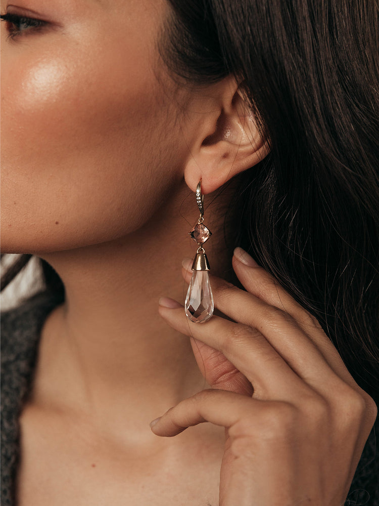 Load image into Gallery viewer, olive + piper Nala Drop Earrings