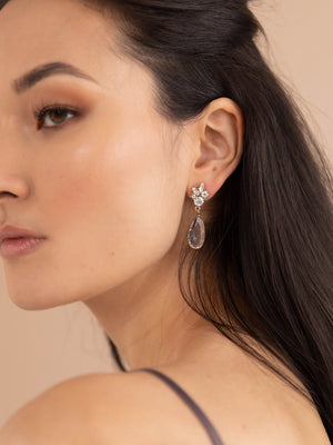 olive + piper Tuyet Drop Earrings