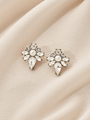 Load image into Gallery viewer, olive + piper Vishal Stud Earrings