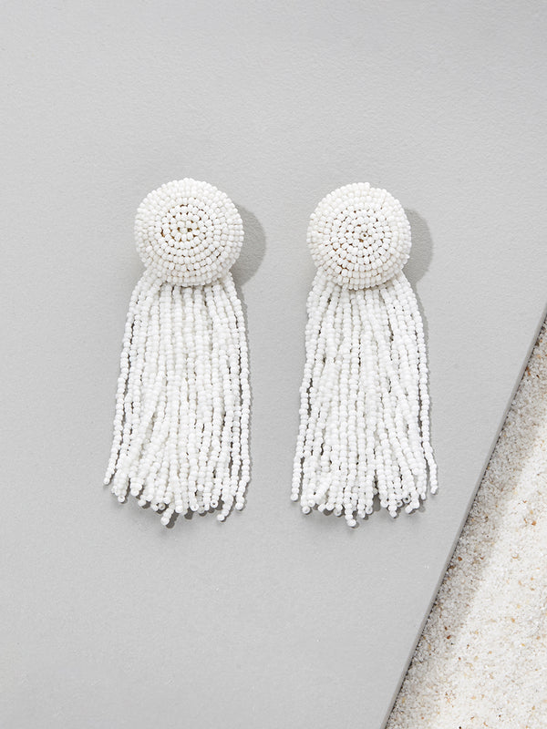 olive + piper Barton Tassel Earrings