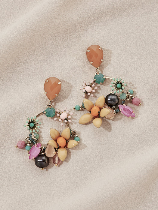 olive + piper Amalfi Statement Earrings