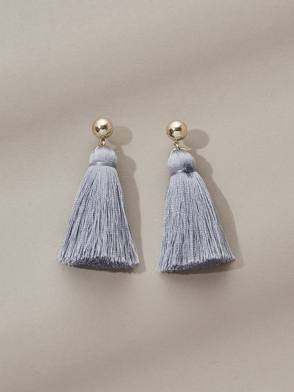 olive + piper Mini Tassel Earrings