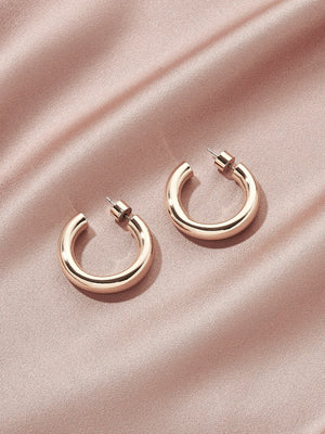 Load image into Gallery viewer, olive + piper Icon Hoop Earrings