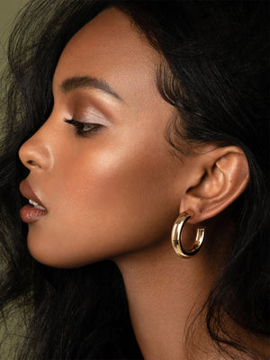 olive + piper Icon Hoop Earrings