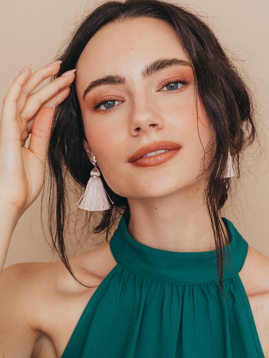 olive + piper Sorbet Tassel Earrings