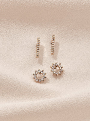 olive + piper Maryn Earring Stud Set