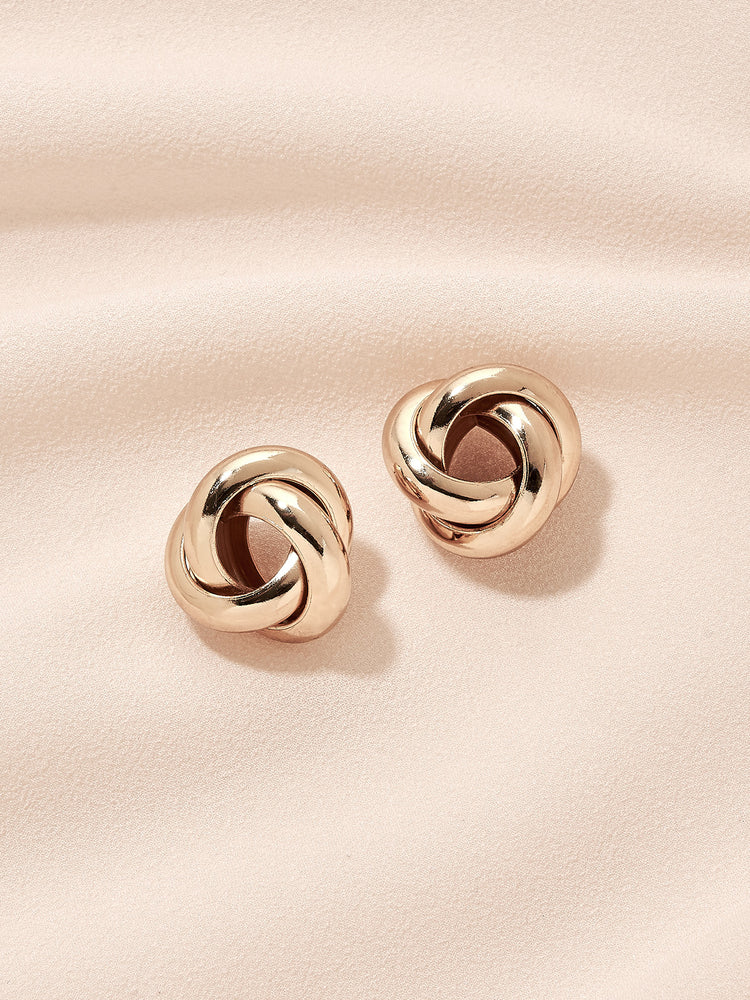 olive + piper Knot Stud Earrings