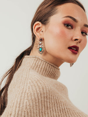olive + piper Emmeline Statement Earrings