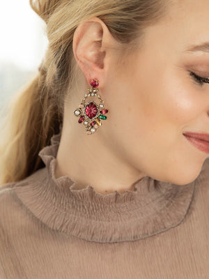 Load image into Gallery viewer, Olive + piper Neva Statement Earrings