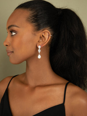 Load image into Gallery viewer, olive + piper Eleanor Statement Drop Earrings
