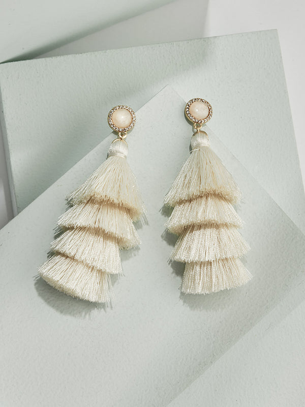 olive + piper Giselle Tassel Earrings