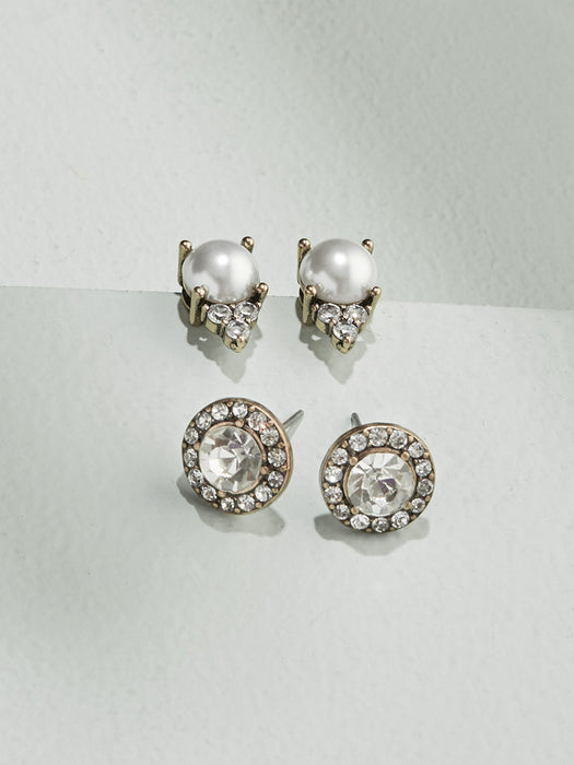 olive + piper Graceful Stud Earring Set
