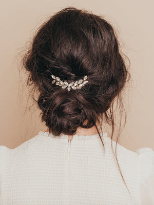 olive + piper Campbell Crystal Bridal Headpiece