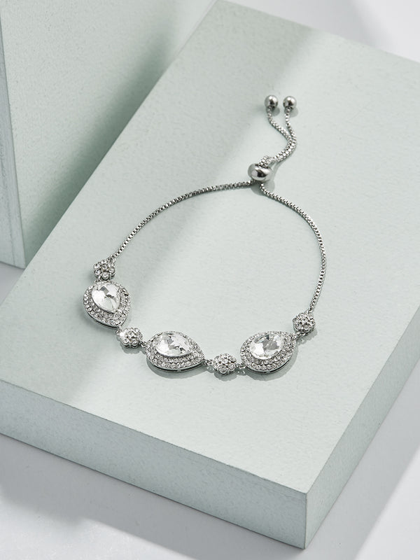 Julia Statement Bracelet - olive + piper Silver
