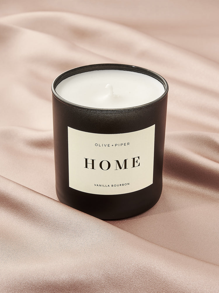 O&P Scented Candle | Home Vanilla Bourbon