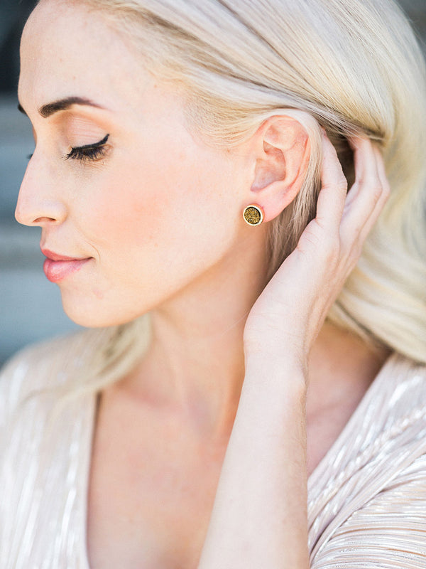 Luster Stud Earrings - O+P