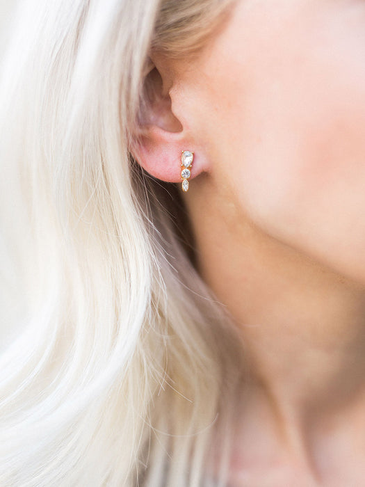 Stud Earring Set: Mini Luxe Studs