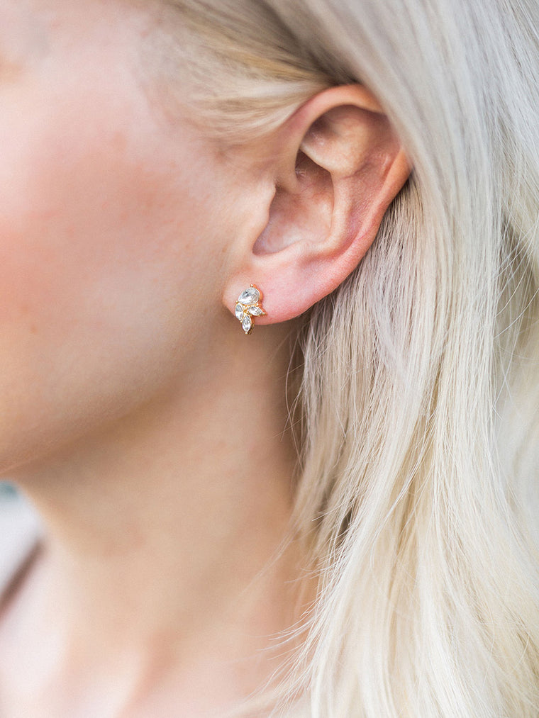Olive + Piper Earrings Set - Mini Luxe Stud Earrings