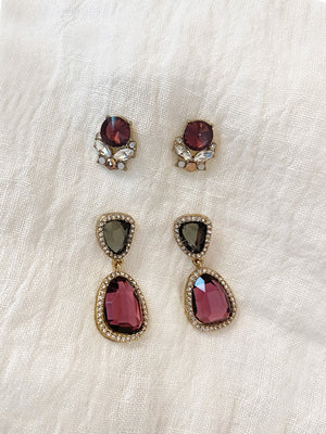 Load image into Gallery viewer, Missy Earring Set (Set of 2)