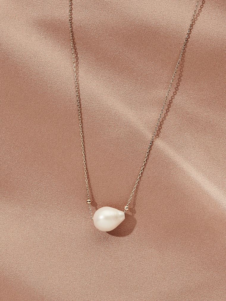 Pearl Orb Necklace
