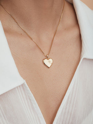 Load image into Gallery viewer, olive + piper Amour Pendant Necklace